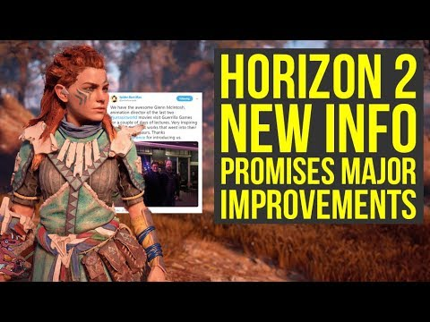Horizon Zero Dawn 2 To Have MORE IMPRESSIVE DINOSAURS + PS4 & PS5 Release? (Horizon Zero Dawn 2019) thumbnail