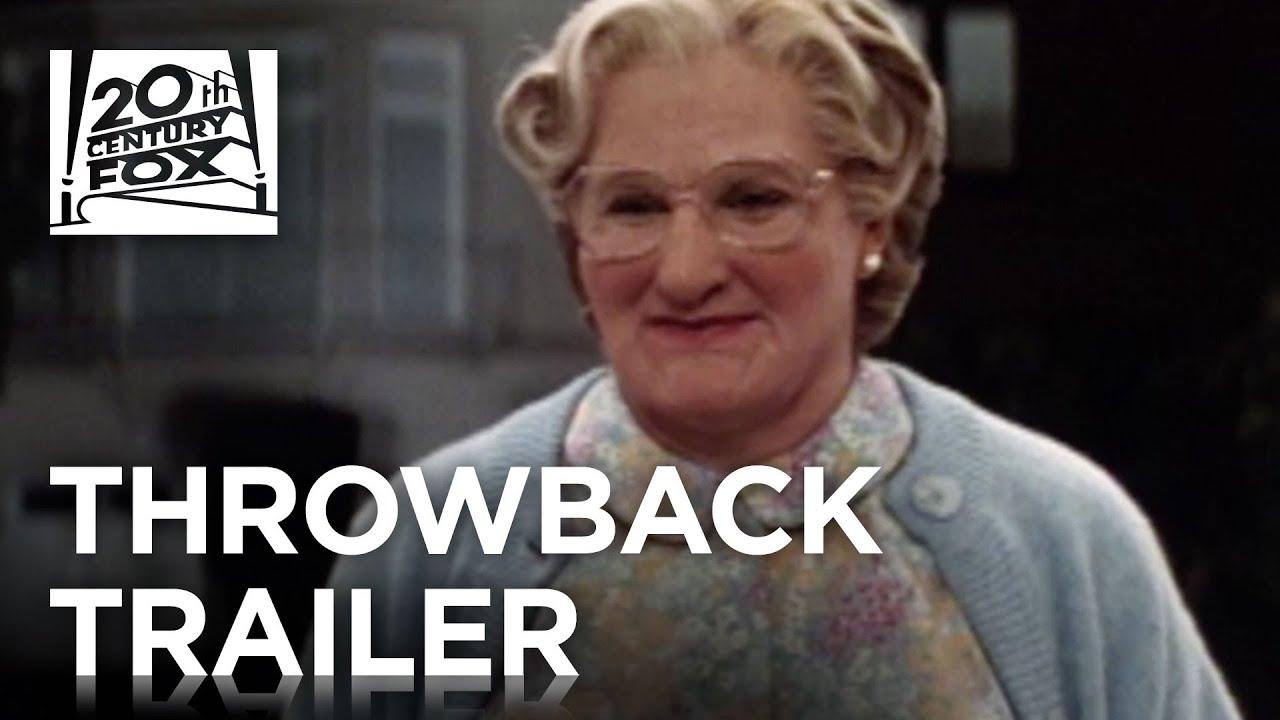 Mrs Doubtfire Tbt Trailer Fox Family Entertainment Youtube