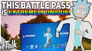 The Chapter 2 Season 7 Battle Pass Is EXTREMELY UNIQUE! (Fortnite Battle Royale)