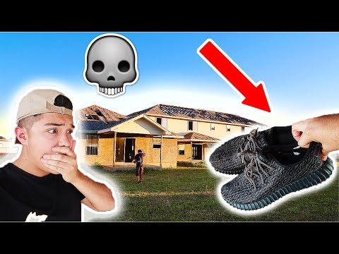 EXPLORING AN ABANDONED NEIGHBORHOOD!! (YEEZYS FOUND?)