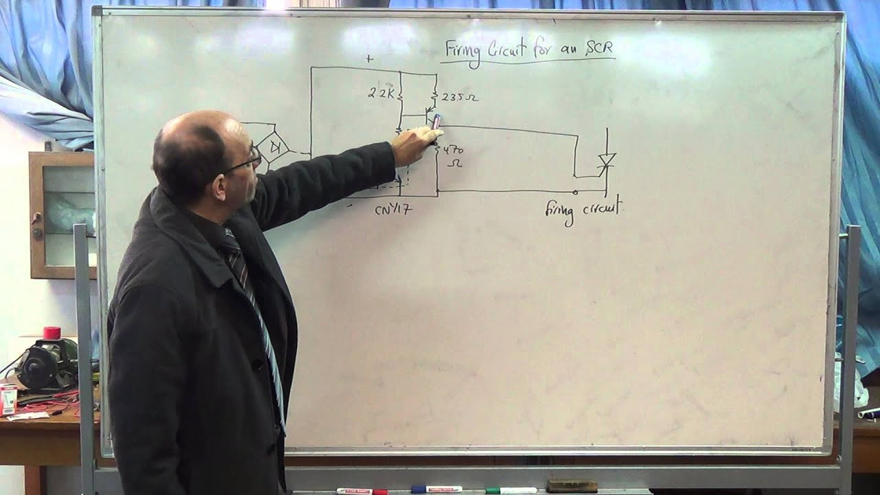 Interfacing Optically Isolated Firing Circuit For An Scr 21 12 Circuitdiagramforscrtriggeringcircuit 2014 Youtube