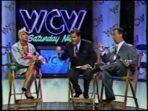WCW - Missy Hyatt interrupts Madusa interview