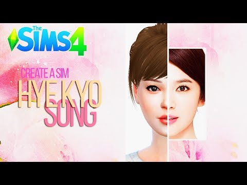 Song Hye Kyo (송혜교) | CAS Collab with KPOPSIMS-SIMMER | The Sims 4