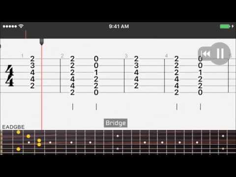 Guitar Chords - Alive - Sia