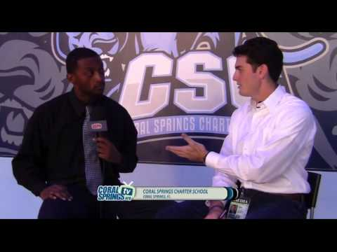 'HIGH SCHOOL GAME DAY' CHARTER VS CALVARY PRE GAME SHOW - HIGH SCHOOL SPORTS - edited version