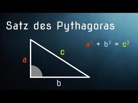 satz des pythagoras einfach erkl rt anwendung und herleitung youtube. Black Bedroom Furniture Sets. Home Design Ideas