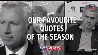Best Premier League quotes of the 2013/14 season - Sky Sports