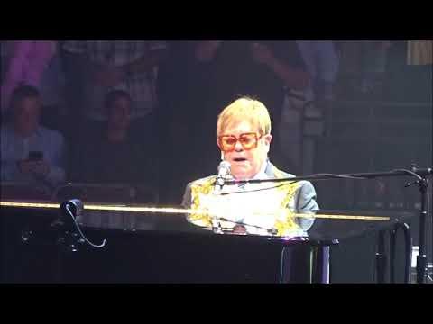 "Elton John ""Philadelphia Freedom"" live Sept 11 2018 Phialdelphia PA"