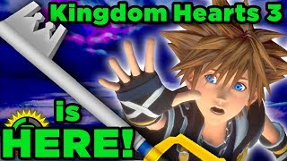 Time to save the Disney worlds! | Kingdom Hearts 3 Official Release!