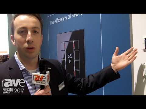 ISE 2017: JUNG Displays Compact Room Controller F 50 KNX Home Control System