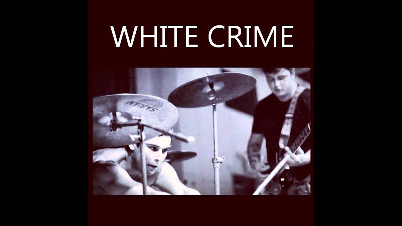 Fingerless gloves for musicians - White Crime Fingerless Gloves