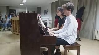 """Öğrencilerimizden """"E. Grieg - Norveç Dansı op.35 no.2"""" Performansı"""
