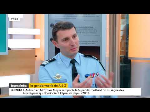 La Gendarmerie pour les Nuls sur France Info