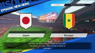 Captain Tsubasa - Rise of New Champions - JAPON vs SENEGAL