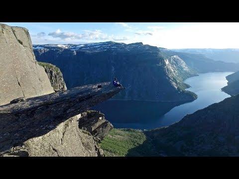 DJI - Trolltunga, Preikestolen and Kjeragbolten 2017 - Drone Video