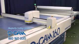 P CAM series Computerised Cutting Machines(Shima Seiki's PCAM series computerised cutting machines. With an established reputation in Japan for high efficiency, productivity and quality the PCAM has ..., 2016-03-02T15:28:30.000Z)