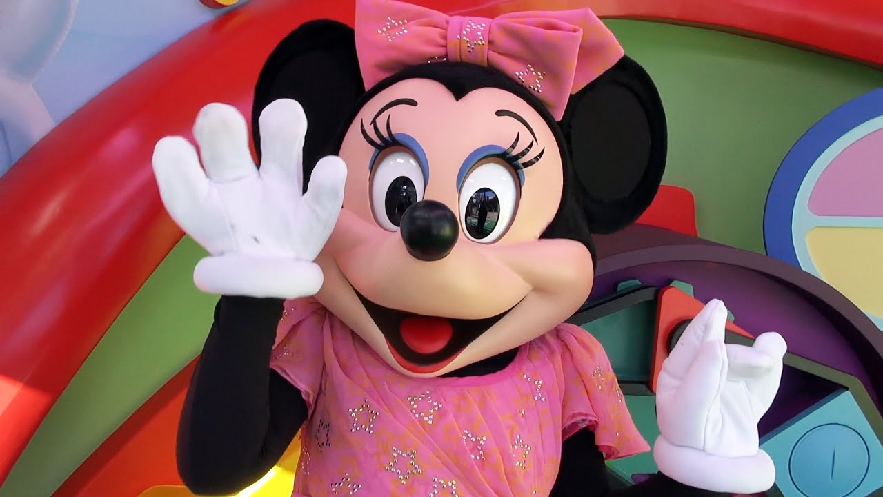 Minnie mouse meet greet at new mickey mouse clubhouse set minnie mouse meet greet at new mickey mouse clubhouse set disneys hollywood studios youtube m4hsunfo