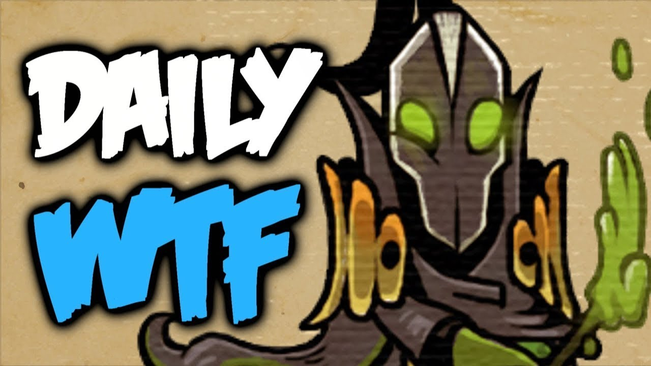 Dota 2 Daily WTF - Kunkka's favourite skill thumbnail