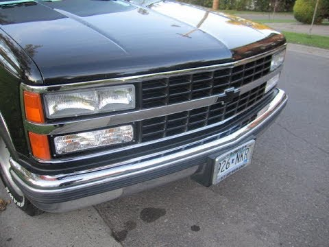 93 Chevy Silverado Headlights