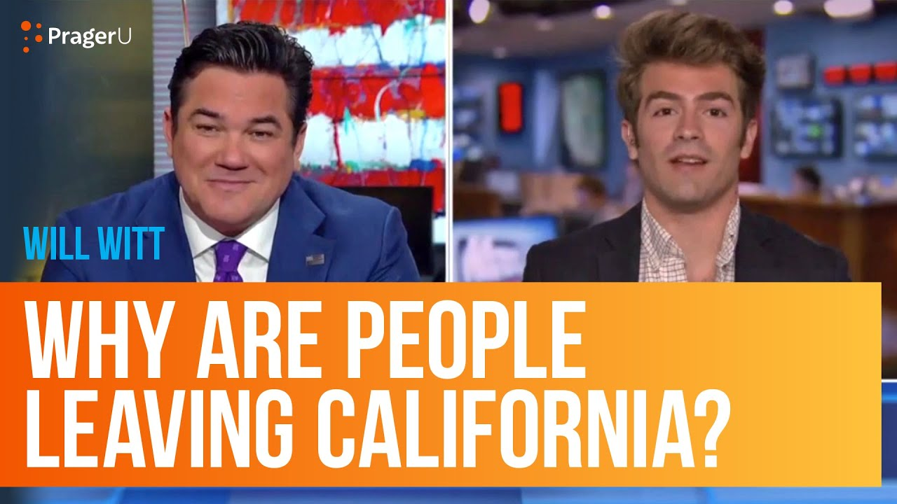 Why Are People Leaving California?