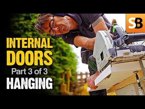How To Install Interior Doors - Robin's Step By Step