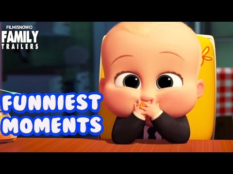 The Boss Baby   Funniest Moments From The Family Animated Movie