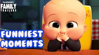 The Boss Baby | Funniest moments from the family animated movie