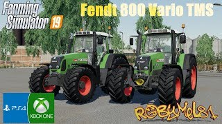 Farming Simulator 2019 - ITA - Fendt 800 Vario TMS - TEST MOD (Console/PC)