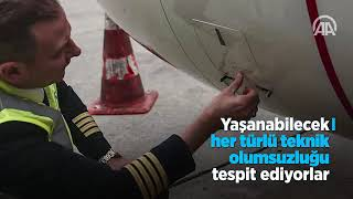 Uçağın hem patronu hem işçisi kaptan pilotlar   Anadolu Ajan