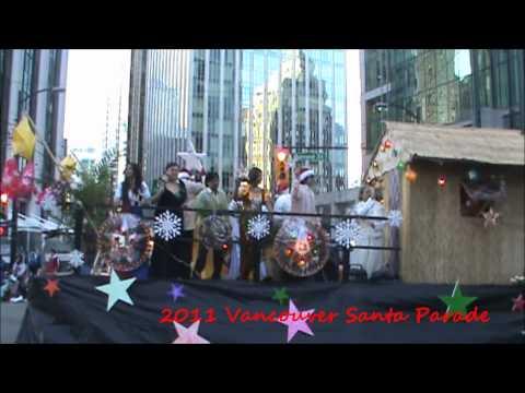 2011 Vancouver's santa parade