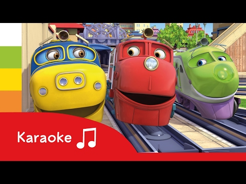 Chuggington - Official TV Show Theme Song - Karaoke - Cartoons for Children