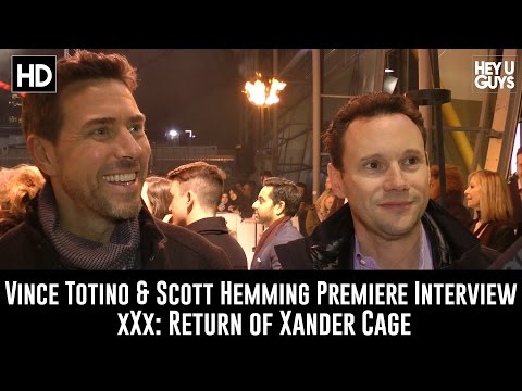 Producers Vince Totino & Scott Hemming Premiere Interview - xXx: Return of Xander Cage fragman