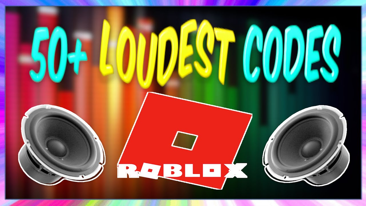 50 Loudest And Most Obnoxious Sound Codes Ids For Roblox Youtube