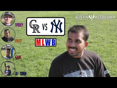 ANKIT CHALLENGED ME! | Major League Wiffleball #4 | Kleschka Vlogs