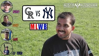 ANKIT CHALLENGED ME! | Major League Wiffle Ball #4