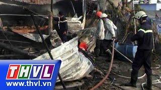 THVL | Cháy công ty sản xuất nệm mút tại TP.HCM