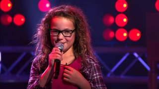 Emma – 'Wannabe' | Blind Audition | The Voice Kids | VTM