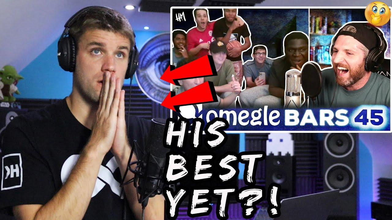 THIS IS IMPOSSIBLE!!   Rapper Reacts to HARRY MACK OMEGLE BARS 45! (First Reaction)