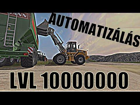 FS 17 AUTOMATIZÁLÁS LVL 1000000000