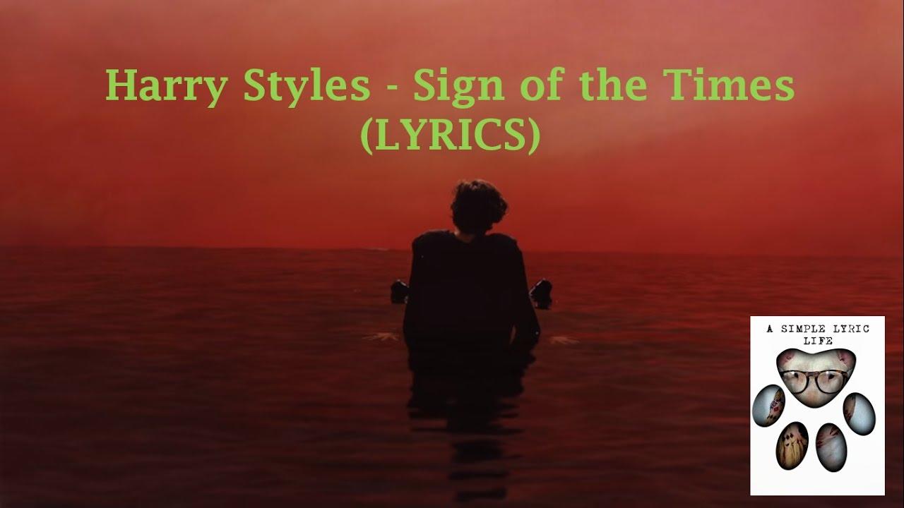 Harry Styles Sign Of The Times übersetzung Deutsch