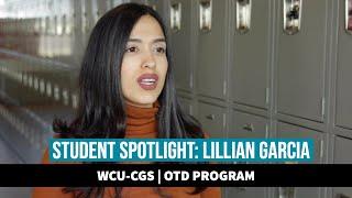 WCU OTD Student Spotlight: Lillian Garcia
