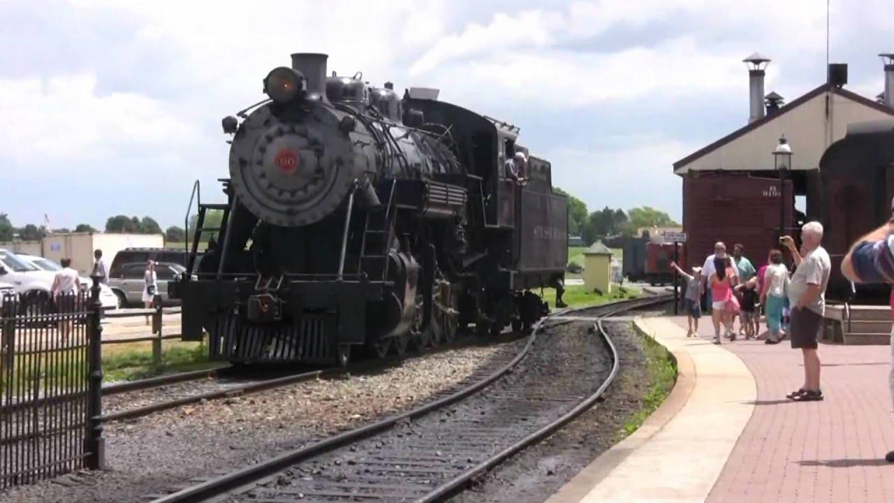 Strasburg Railroad #90 - YouTube