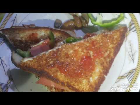 صورة  طريقة عمل البيتزا طريقة عمل بيتزا سهلة وسريعة فى 10 دقائق بالتوست🍕🍕🍕🍕 طريقة عمل البيتزا من يوتيوب