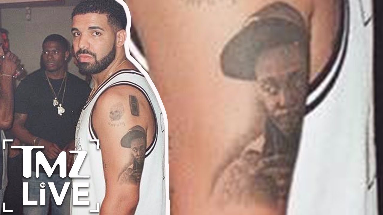 Drake Gets Lil Wayne Tattoo Tmz Live Youtube