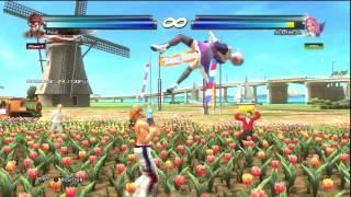 TTT2 Tekken Tag 2 Hwoarang/Steve Staple Combos