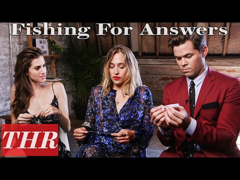 HBO's 'Girls' Cast ft. Lena Dunham, Jemima Kirke & More Play 'Fishing For Answers'  THR