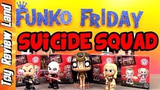 Funko Friday! Suicide Squad Funko Mystery Minis Blind Boxes + Harley Quinn & Joker Funko Pops.