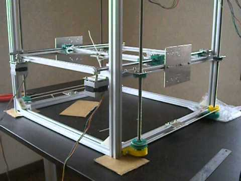 h bot 3d printer hb1 dry test youtube. Black Bedroom Furniture Sets. Home Design Ideas