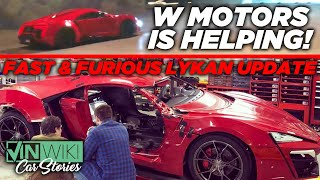 Here's how W Motors is helping Genius Garage rebuild the Fast & Furious Lykan Hypersport