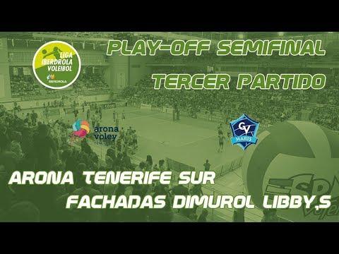 Play-Off Semifinal Tercer Partido Arona Voley - Haris
